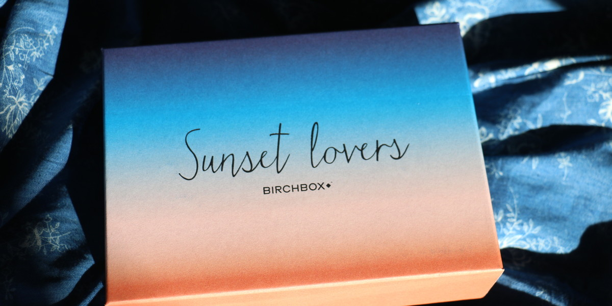 Birchbox de juillet 2015 : Sunset Lovers