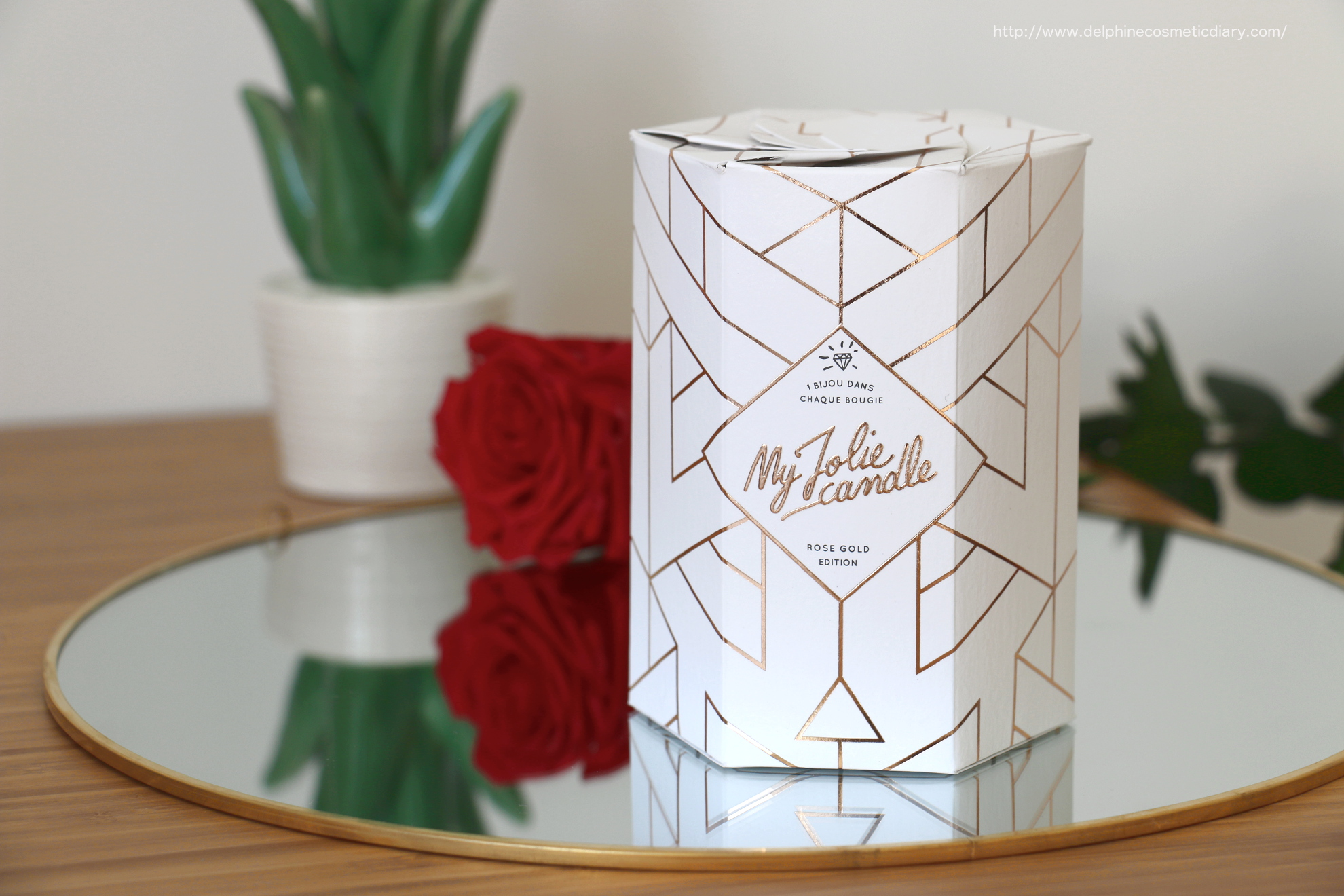 My Jolie Candle | Rose Gold Edition