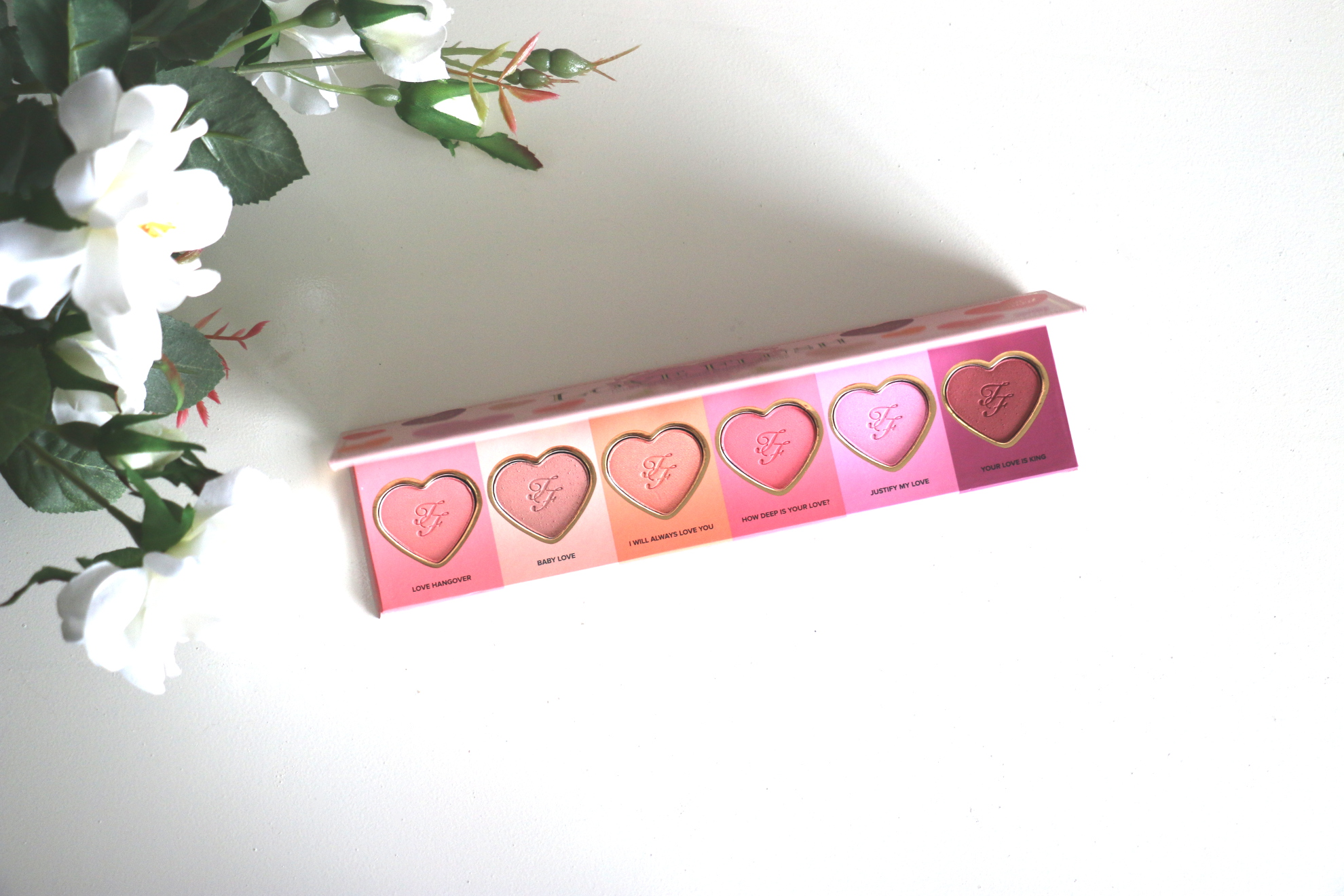 La merveilleuse palette Love Flush de Too Faced !