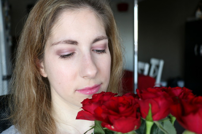 Simple makeup for Valentine's day !